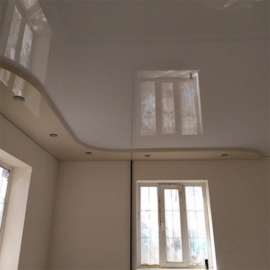 Заказать глянцевый потолок в Днепре