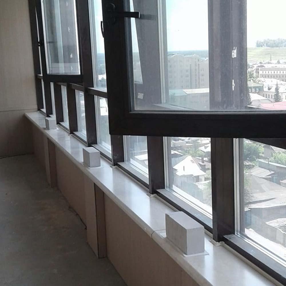 Отделка лоджий и балконов в Днепре