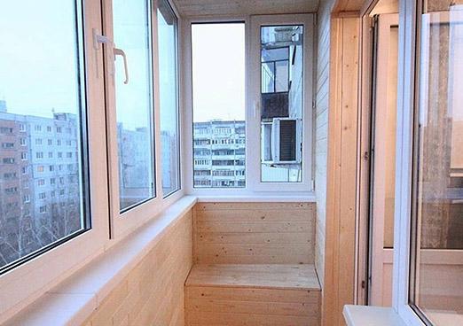 Внутренняя отделка балконов в Днепре